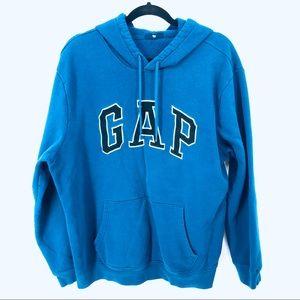 Gap signature blue hoodie